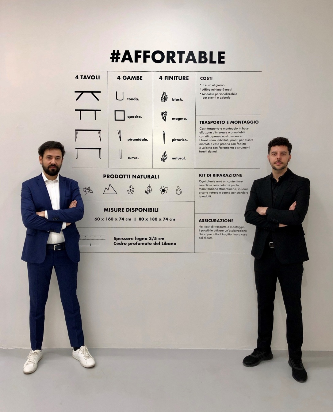 #AfforTable - Dario Brivio e Francesco Cazzaniga